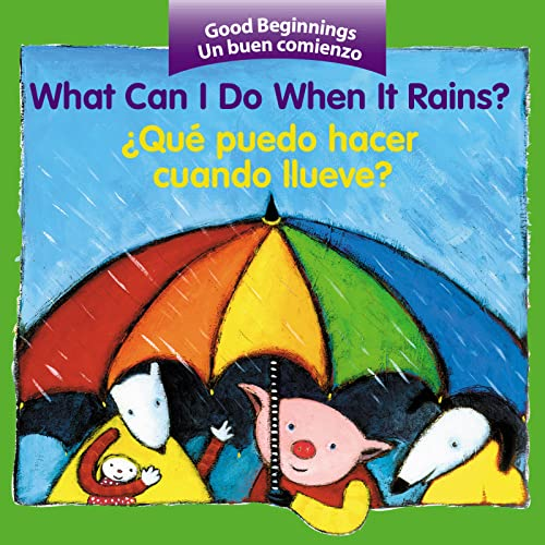 9780618443765: What Can I Do When It Rains? / ¿Qué puedo hacer cuando llueve? (Good Beginnings) (Spanish Edition)