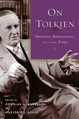 9780618445165: On Tolkien : Interviews, Reminiscences, and Other Essays