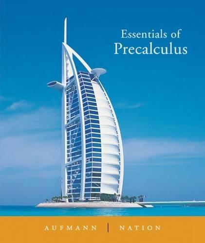 9780618447022: Essentials of Precalculus