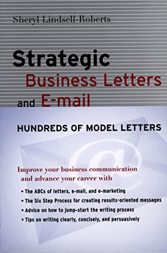 9780618448333: Strategic Business Letters and E-mail