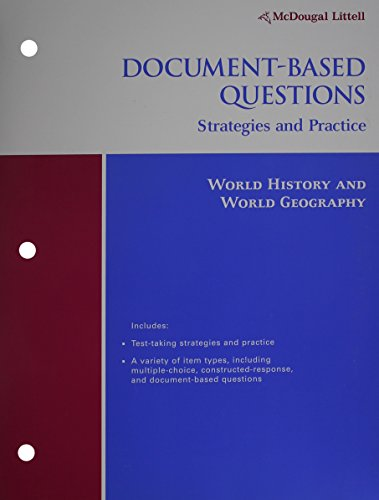 9780618451760: McDougal Littell World History: Patterns of Interaction: Document-Based Questions: Strategies and Practice