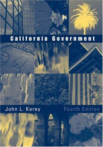 9780618452347: California Government