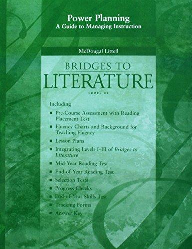 McDougal Littell Language of Literature: Power Planning: MCDOUGAL LITTEL