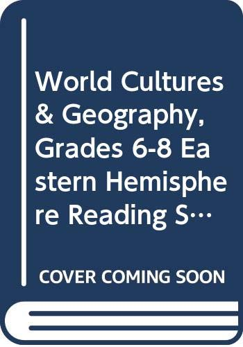 9780618454815: World Cultures & Geography, Grades 6-8 Eastern Hemisphere Reading Study Guide Workbook: Mcdougal Littell World Cultures & Geography