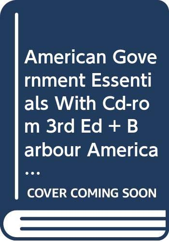 9780618455348: American Government Essentials With Cd Rom 3rd Edition Plus Barbour American Government Reader