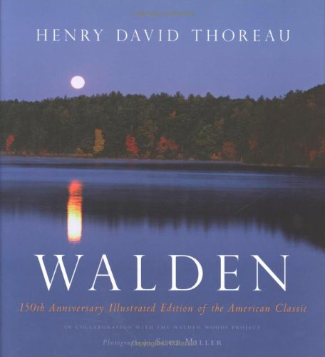 9780618457175: Walden: 150th Anniversary Illustrated Edition of the American Classic