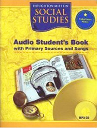 Social Studies: Audio Student's Book (Houghton Mifflin Social Studies): HOUGHTON MIFFLIN