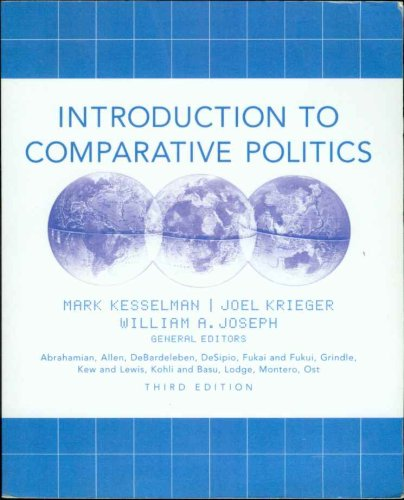9780618458097: Introduction to Comparative Politics