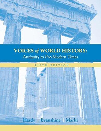 VOICES OF HISTORY >CUSTOM<: B. Carmon Hardy