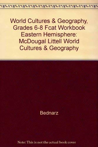 9780618463930: McDougal Littell World Cultures & Geography: FCAT Workbook Grades 6-8 Eastern Hemisphere
