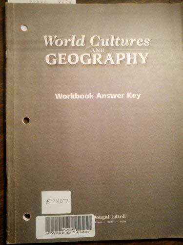 9780618463947: McDougal Littell World Cultures & Geography: FCAT Workbook Answer Key Grades 6-8 Eastern Hemisphere