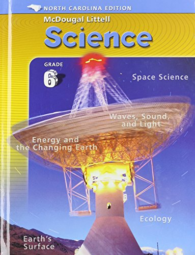 9780618464340: McDougal Littell Middle School Science North Carolina: Student Edition Course 1 Integrated Course 1 2005