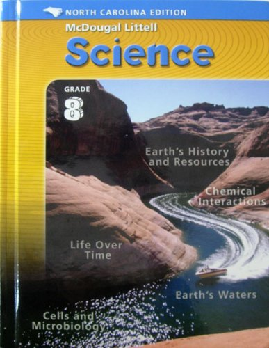 9780618464364: McDougal Littell Middle School Science North Carolina: Student Edition Course 3 Integrated Course 3 2005