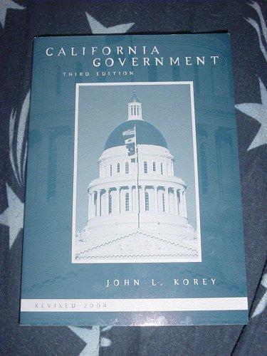 9780618465972: California Government (Revised 2004)