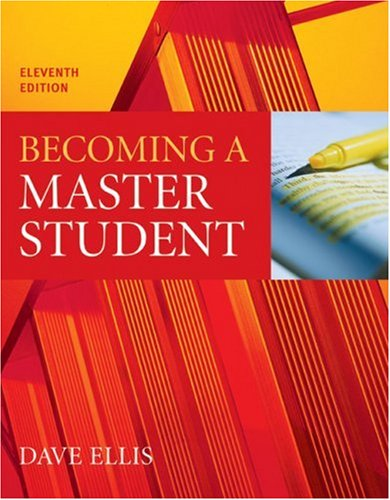 9780618467709: Becoming a Master Student