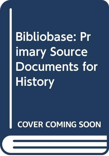 9780618467761: Bibliobase: Primary Source Documents for History