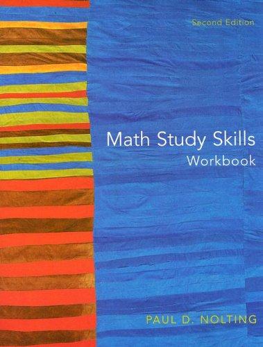 9780618473038: Math Study Skills Workbook