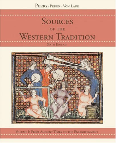 9780618473861: Sources of the Western Tradition: Volume I: From Ancient Times to the Enlightenment