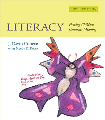 9780618473939: Literacy: Helping Children Construct Meaning