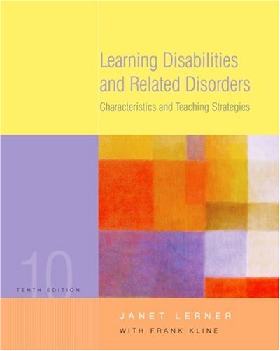 9780618474028: Learning Disabilities and Related Disorders: Characteristics and Teaching Strategies