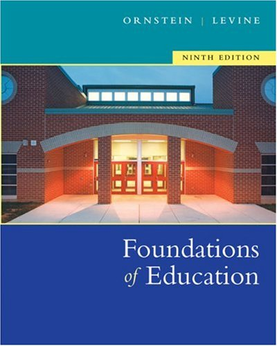 9780618474066: Foundations Of Education Ninth Edition