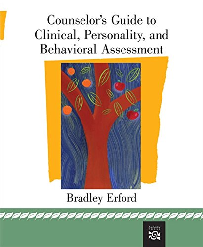 9780618474141: Counselor's Guide to Clinical, Personality, And Behavioral Assessment