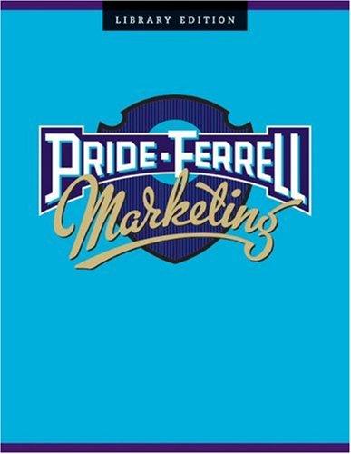 9780618474455: Pride-Ferrell Marketing