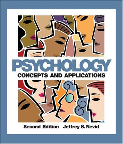 9780618475117: Psychology: Concepts and Applications