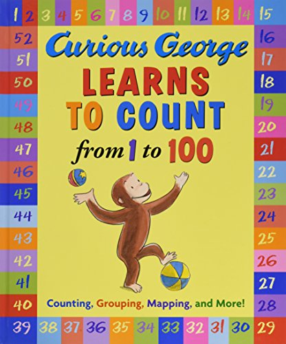 9780618476022: Curious George Learns to Count from 1 to 100
