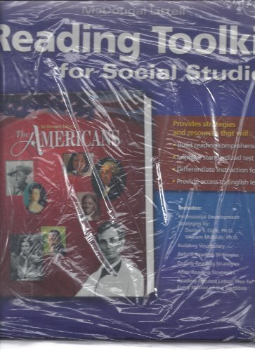 9780618476916: The Americans: Reading Toolkit For Social Studies: The Americans