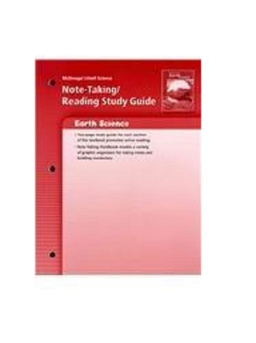9780618477791: McDougal Littell Science: Earth's Surface: Note-Taking / Reading Study Guide