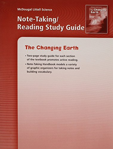 9780618478767 McDougal Littell Science The Changing Earth