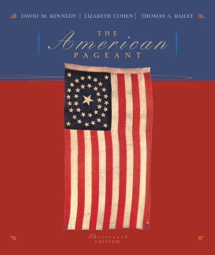 9780618479276: The American Pageant: A History of the Republic