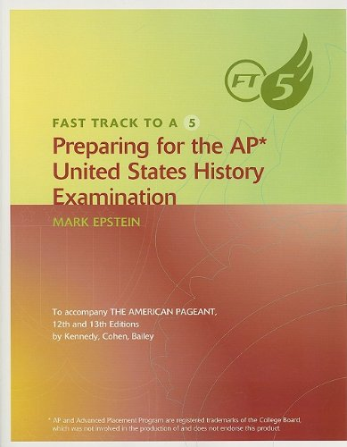 9780618479399: Fast Track to A 5 Preparing for the AP United States History Examination