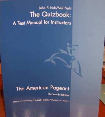 9780618479436: American Pageant Tb 13ed