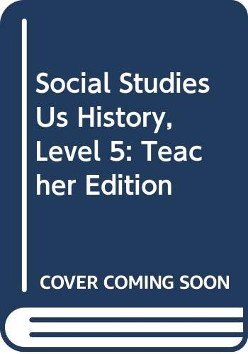 9780618479993: Houghton Mifflin Social Studies: Teacher's Edition Level 5 Survey VoLevel 2 Us Hi 2005