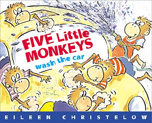 9780618486021: Five Little Monkeys Wash the Car