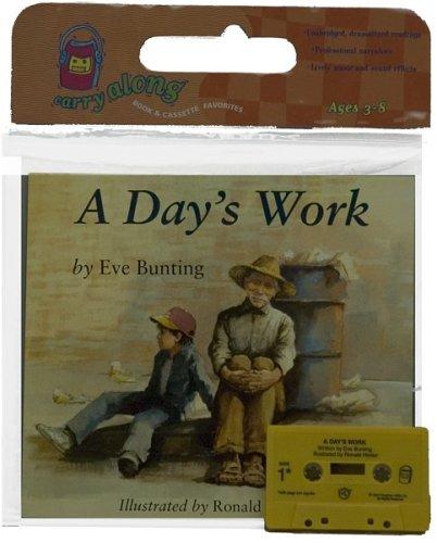 9780618486083: A Day's Work Book & Cassette (Read Along Book & Cassette)