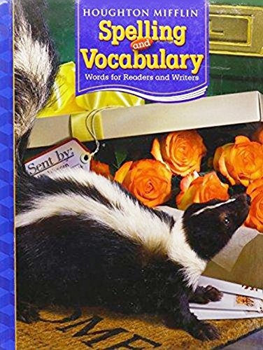 9780618491896: Houghton Mifflin Spelling and Vocabulary: Student Edition Non-Consumable Grade 4 2006
