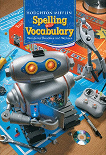 9780618491919: Houghton Mifflin Spelling and Vocabulary: Student Edition Non-Consumable Level 6 2006
