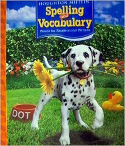 9780618491933: Houghton Mifflin Spelling and Vocabulary: Words for Readers and Writers, Grade 2