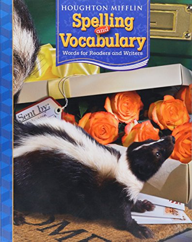 9780618491957: Houghton Mifflin Spelling and Vocabulary: Consumable Student Book Grade 4 2006