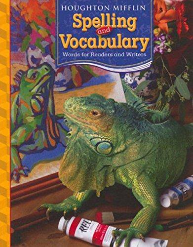 9780618491964: Houghton Mifflin Spelling and Vocabulary: Words for Readers and Writers