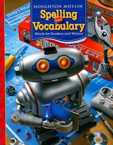 9780618491971: Houghton Mifflin Spelling and Vocabulary: Student Edition (Softcover) Level 6 2006