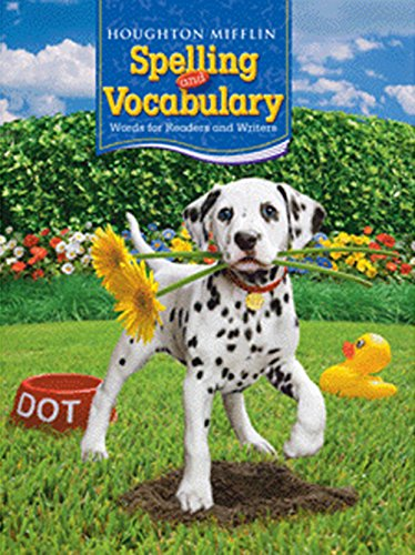 9780618491995: Houghton Mifflin Spelling and Vocabulary: Student Edition Non-Consumable Ball and Stick Grade 2 2006