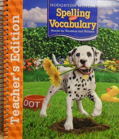 Houghton Mifflin Spelling and Vocabulary: Teachers Edition Grade 2 2006: MIFFLIN, HOUGHTON