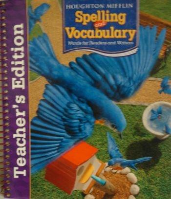 9780618492107: Houghton Mifflin Spelling and Vocabulary: Teachers Edition Grade 3 2006