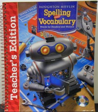 9780618492138: Houghton Mifflin Spelling and Vocabulary: Teachers Edition Level 6 2006