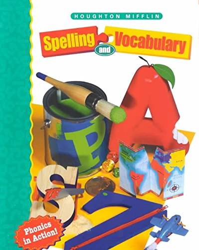 9780618492145 Houghton Mifflin Spelling And Vocabulary