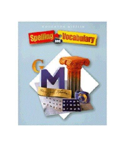 9780618492176: Houghton Mifflin Spelling and Vocabulary: Teacher's Resource Blackline Masters Grade 4